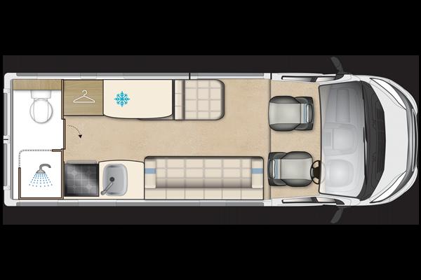 Auto Sleeper Kemerton Xl Peugeot Van Conversion