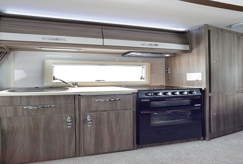 Auto-Sleeper Malvern 2018 Kitchen