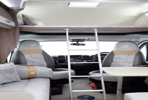 Auto Sleeper Nuevo ES 2018 Bunk Ladder