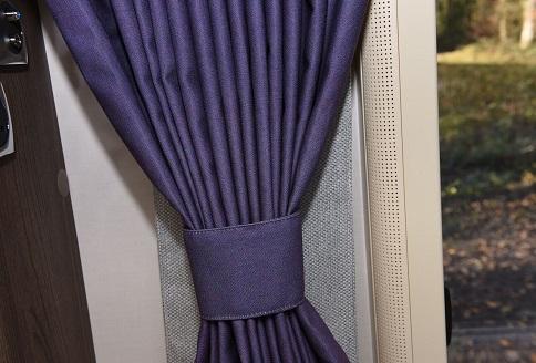 New Auto-Sleeper Bourton 2018 Curtains
