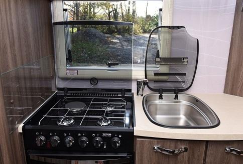 New Auto-Sleeper Bourton 2018 Kitchen