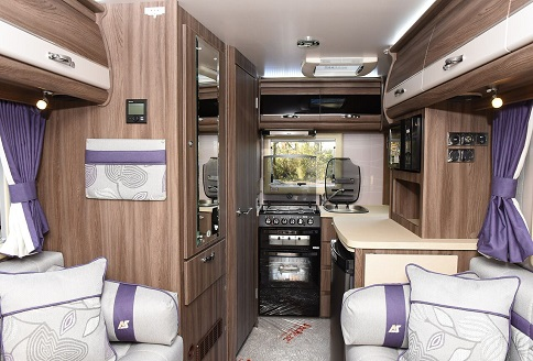 New Auto-Sleeper Broadway 2018 End Kitchen