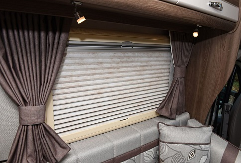 New Auto-Sleeper Nuevo 2018 Concertina Blinds